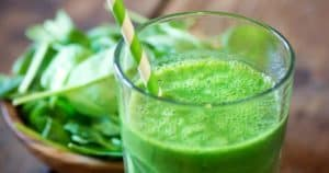 Green Smoothie Snack