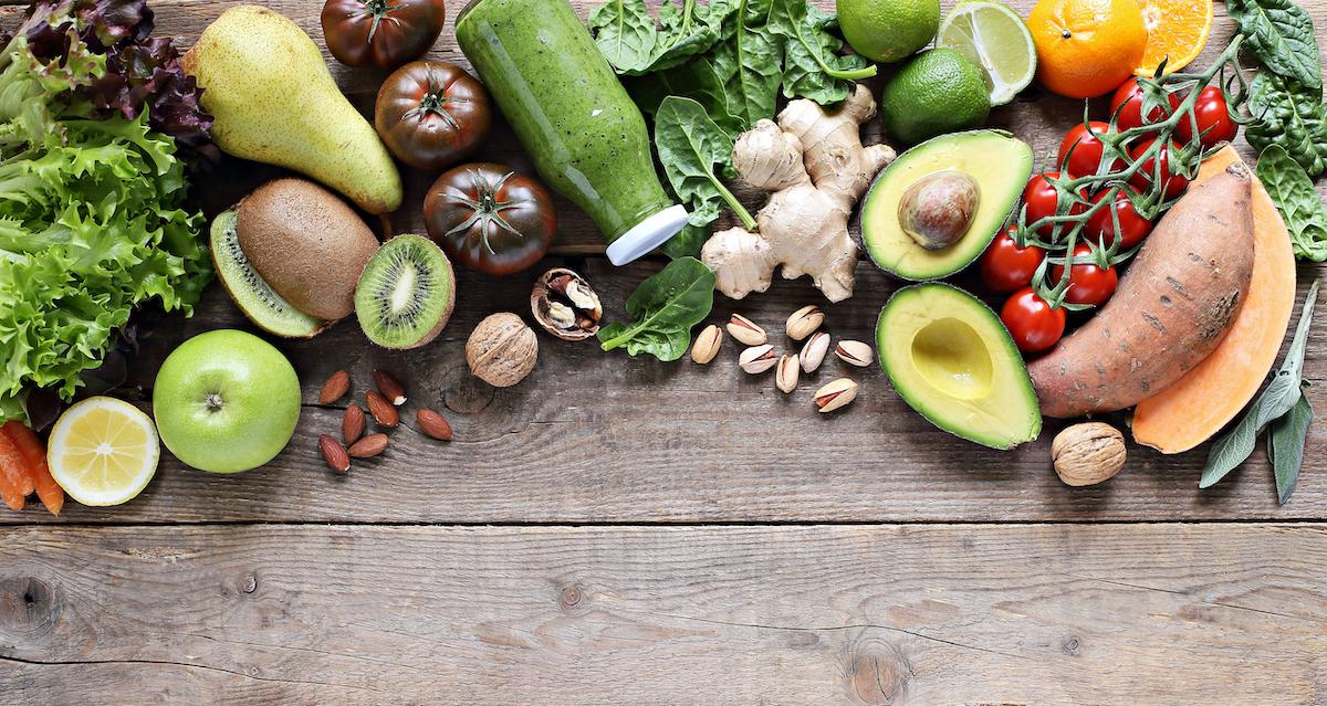 Befolgen Sie eine vegane Ernährung