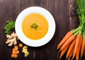 Möhren Suppe