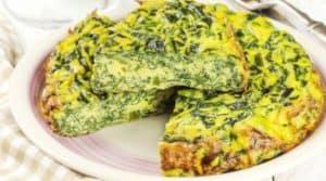 Mangold Frittata