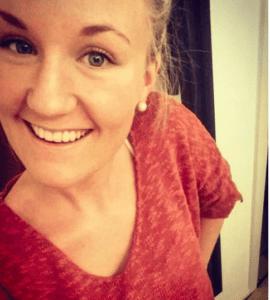 Gesicht Frau lächelt