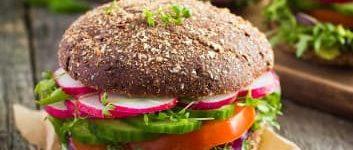 Vollkorn Burger