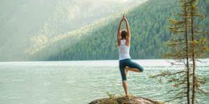 Yoga am Gebirgssee - Mitten in der Natur