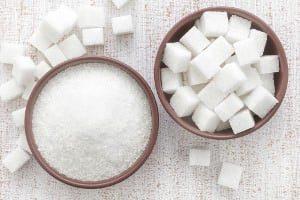 raffinierter Zucker aus Zuckerrüben