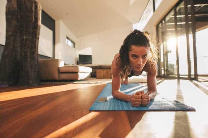 Zu Hause Workouts zur Gewichtsreduktion